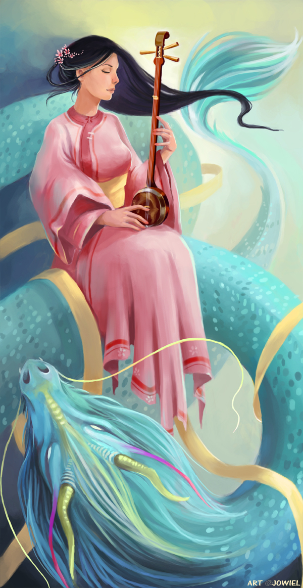 Dragon's Lute by JowieL