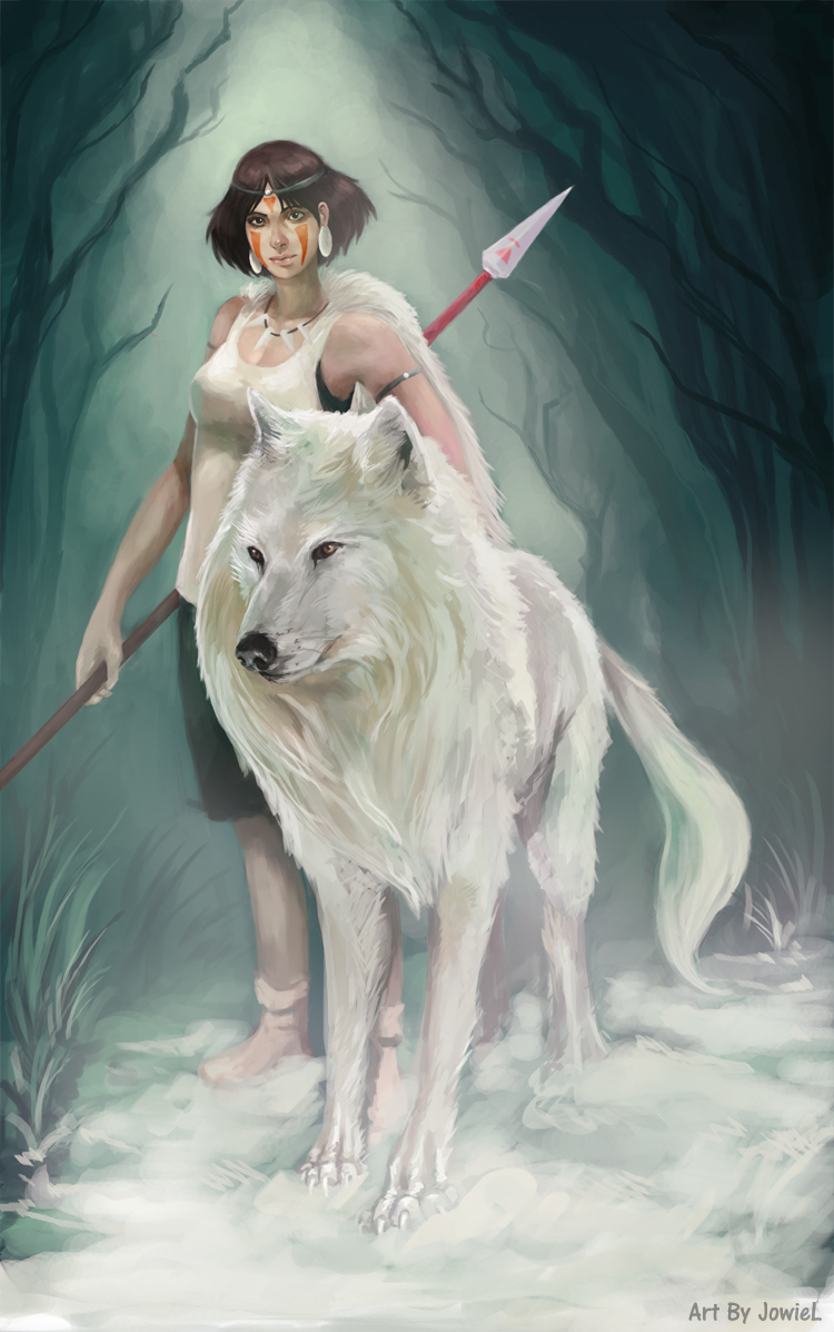 Princess Mononoke by JowieL