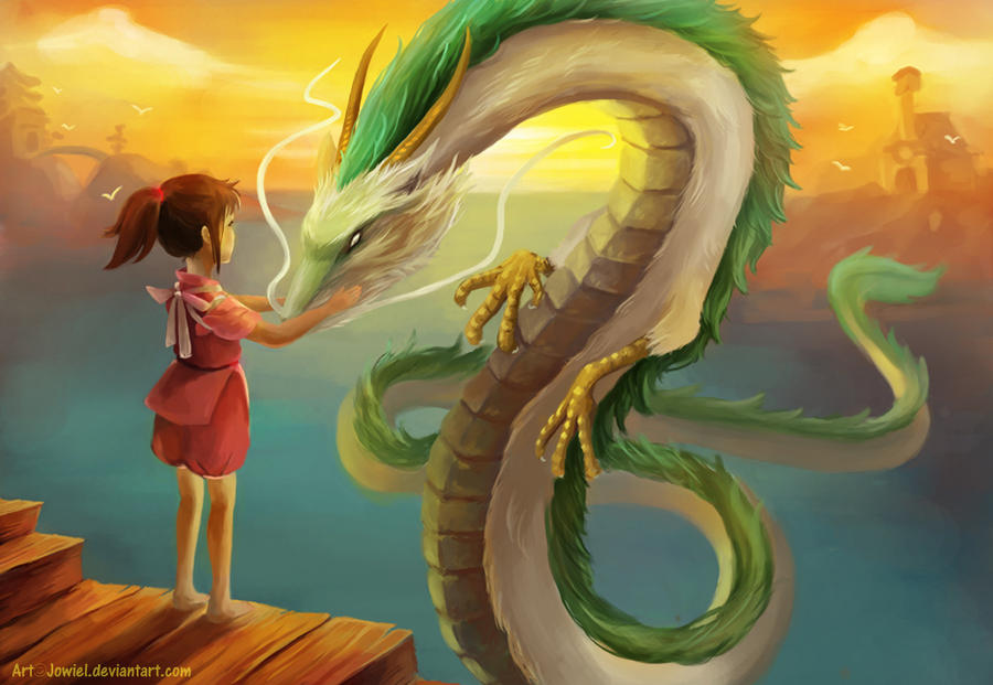 Spirited Away by JowieL