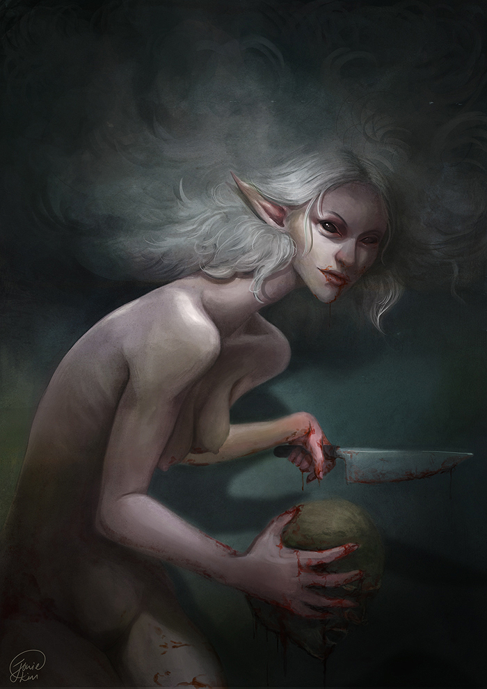 Witch and My Watermelon by JowieL
