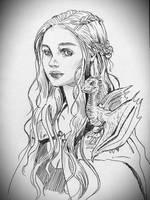 Daenerys Targaryen by JowieLimArt