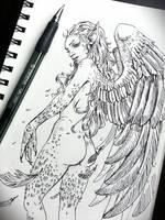 Demonic Angel by JowieLimArt