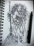 Mischievous Little Witch