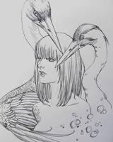 Spirit Animal by JowieLimArt