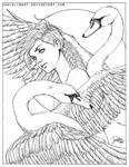 Feather Series: Swan