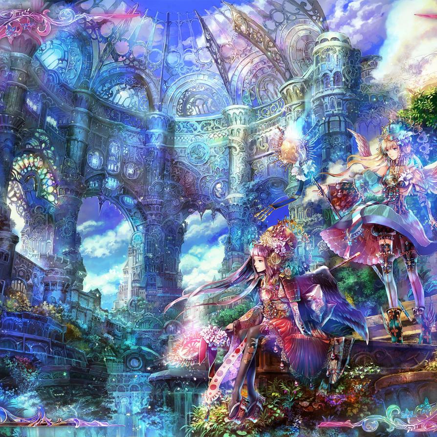 Ipad Air 22953 Anime Scenery by HikariStephanie
