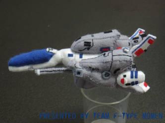 R-9A Arrowhead Plush toy by teamF-TYPEmomen