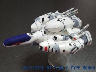 R-9C Plushy by teamF-TYPEmomen
