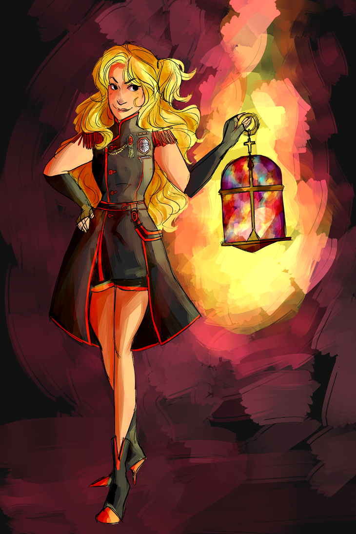 Lady of the Lantern by inthedreamcloud