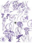Disney Villains Sketch - 03