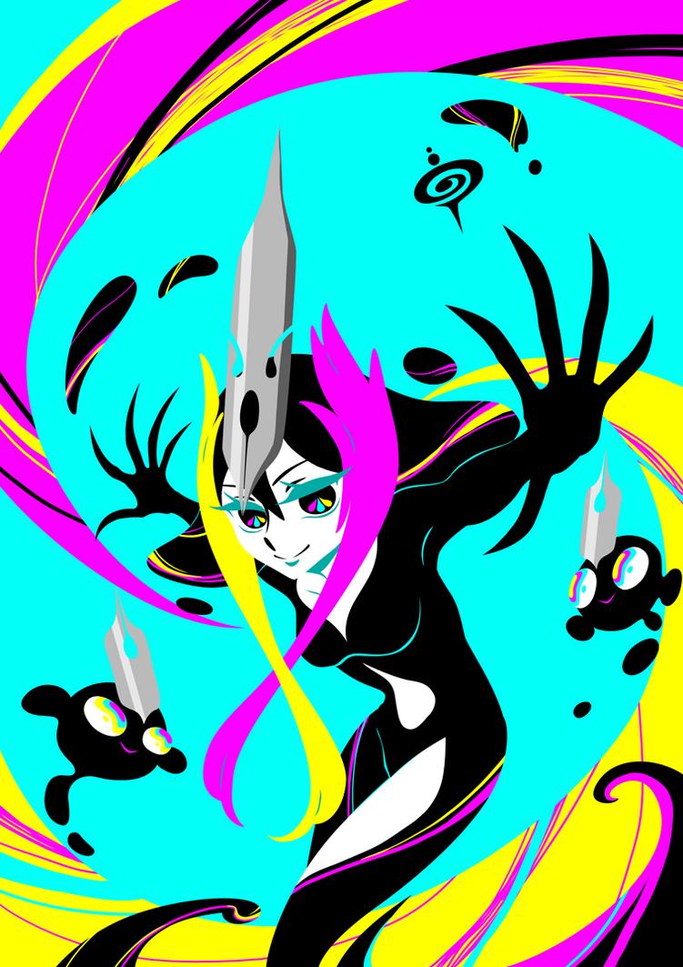 Ink Lady by SPIRALCRIS
