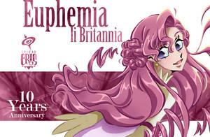 Euphy 10th Geass Anniversary by SPIRALCRIS