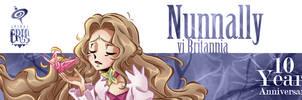 Nunnally 10th Geass Anniversary by SPIRALCRIS