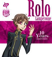Rolo 10th Geass Anniversary by SPIRALCRIS
