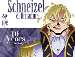 Schneizel 10th Geass Anniversary by SPIRALCRIS