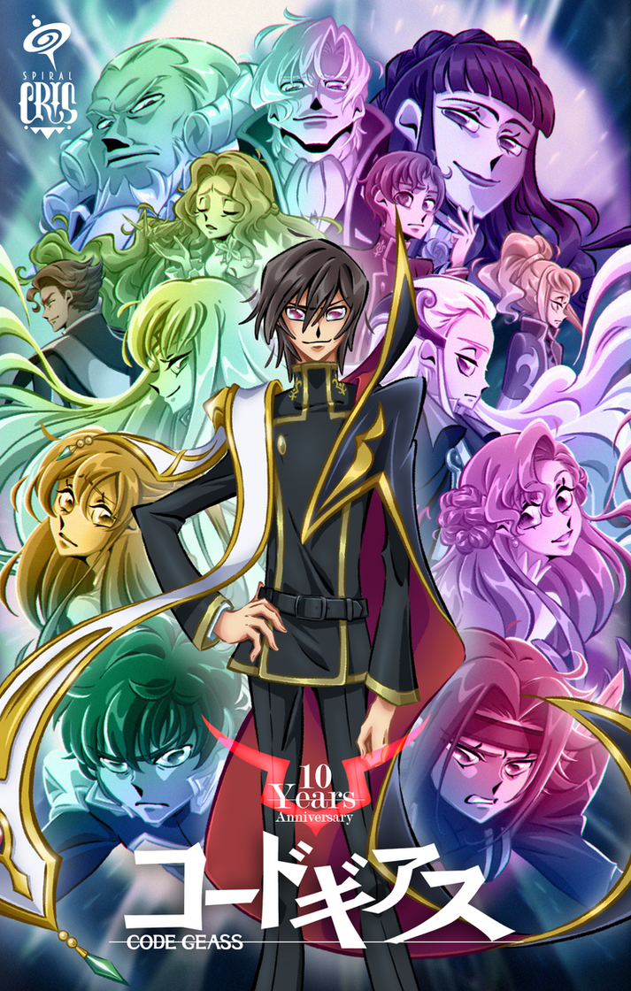 Code Geass 10th Anniversary by SPIRALCRIS