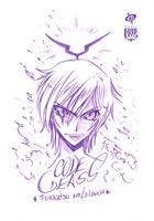 Fukkatsu no Lelouch Sketch by SPIRALCRIS