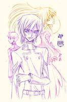 Fukkatsu Miracle Sketch by SPIRALCRIS