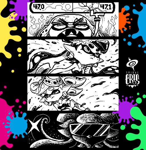 Splatoon Miiverse Art 11 by SPIRALCRIS