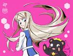 Kureha and Ginko by SPIRALCRIS