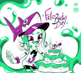 Feliz Birthday Octo Metal Jaws by SPIRALCRIS