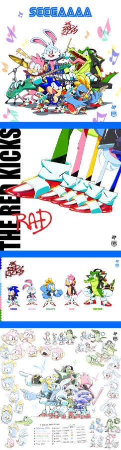 Sonic the Hedgehog Band THE RED KICKS