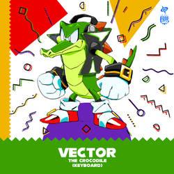 THE RED KICKS - VECTOR the Crocodile