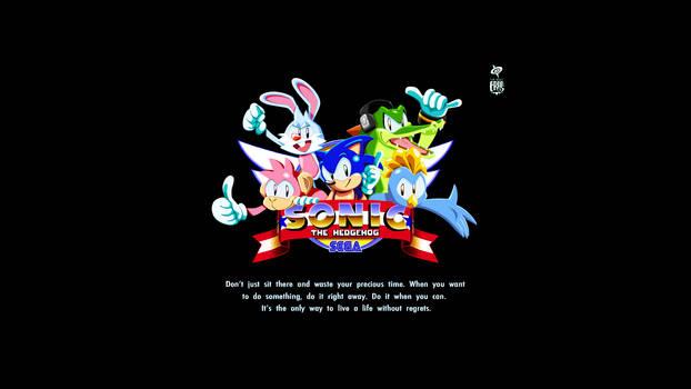 Sonic the Hedgehog The Red Kicks Wallpaper DESKTOP