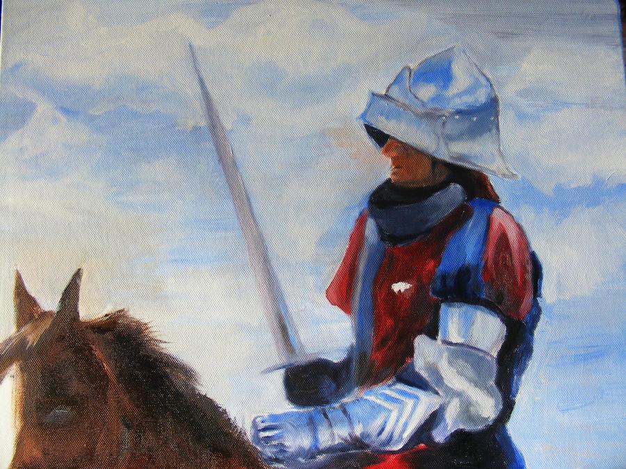 Medieval Knight on horseback by Wyndworm on DeviantArt
