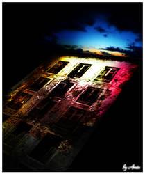 dark building by amincreations
