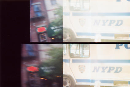 Lomo - NYPD by theshoyshoyboy