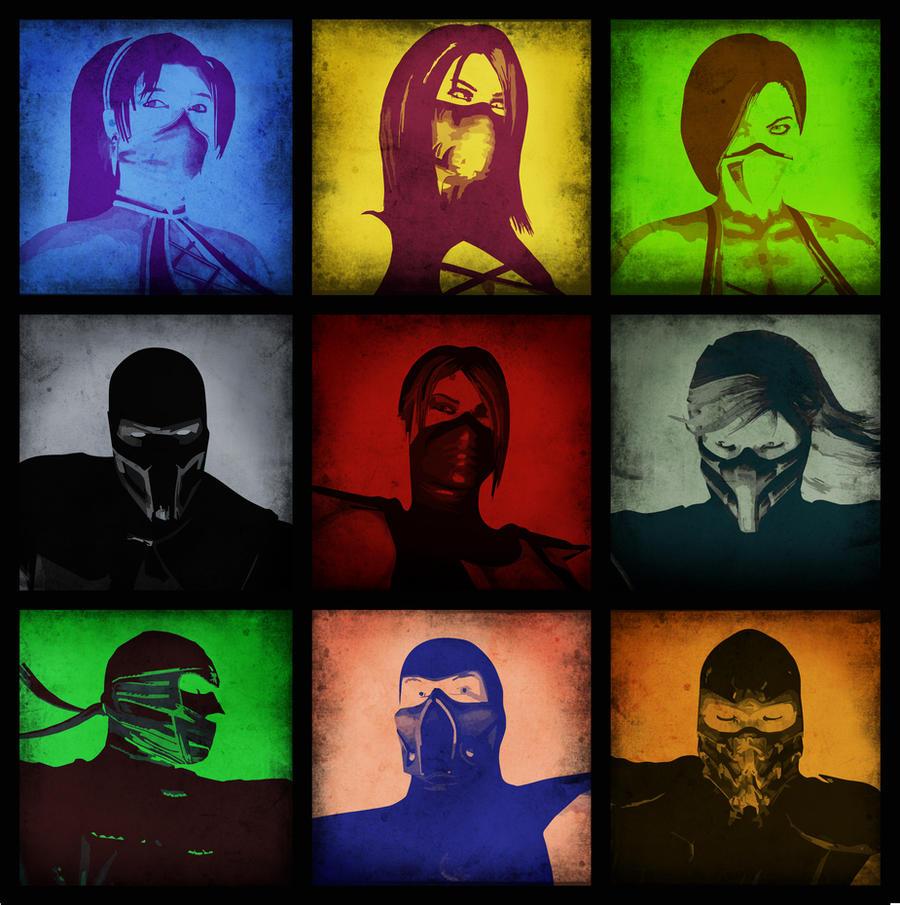 MK Warriors by Utopian-MK