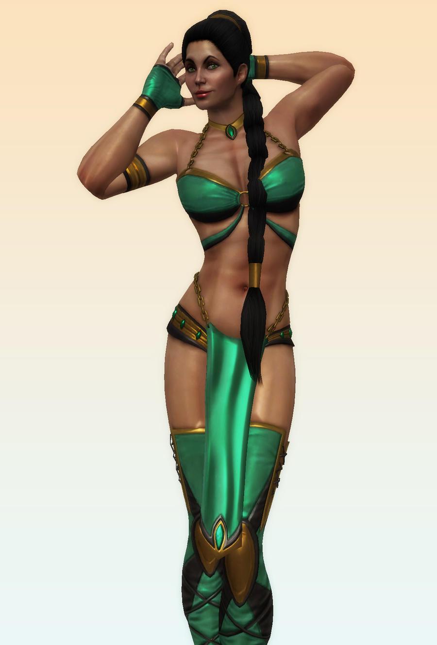 Sexy Jade by Utopian-MK