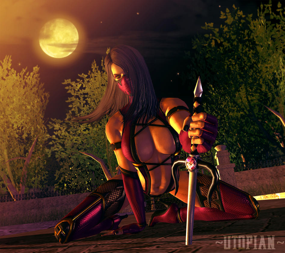 Sensuality of night by Utopian-MK