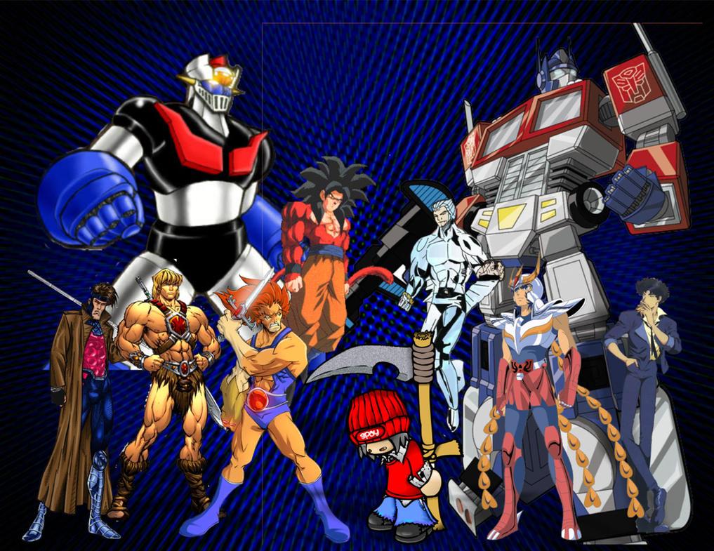 mis superheroes by Spaycb