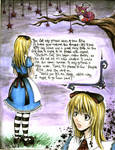 Alice in Wonderland page 1