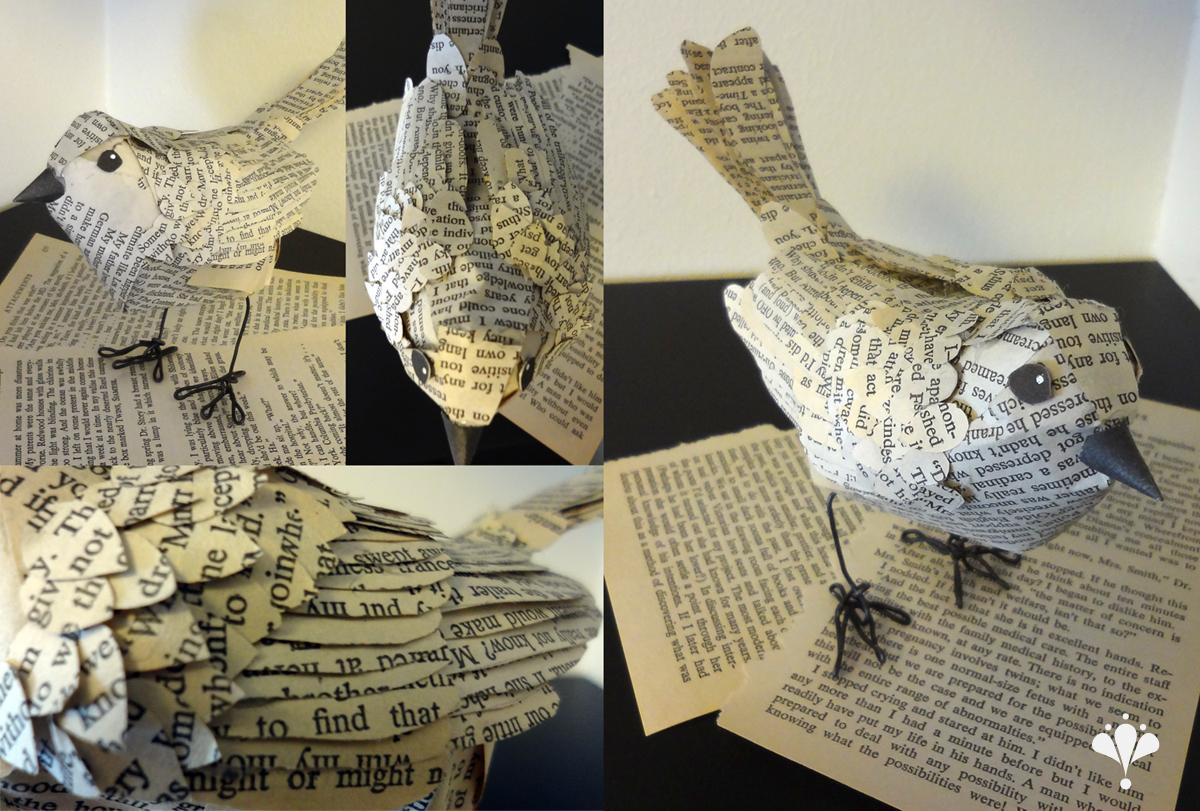 Paper Bird by NaylaSmith