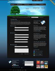 Evermor Contact page by Remitrom73