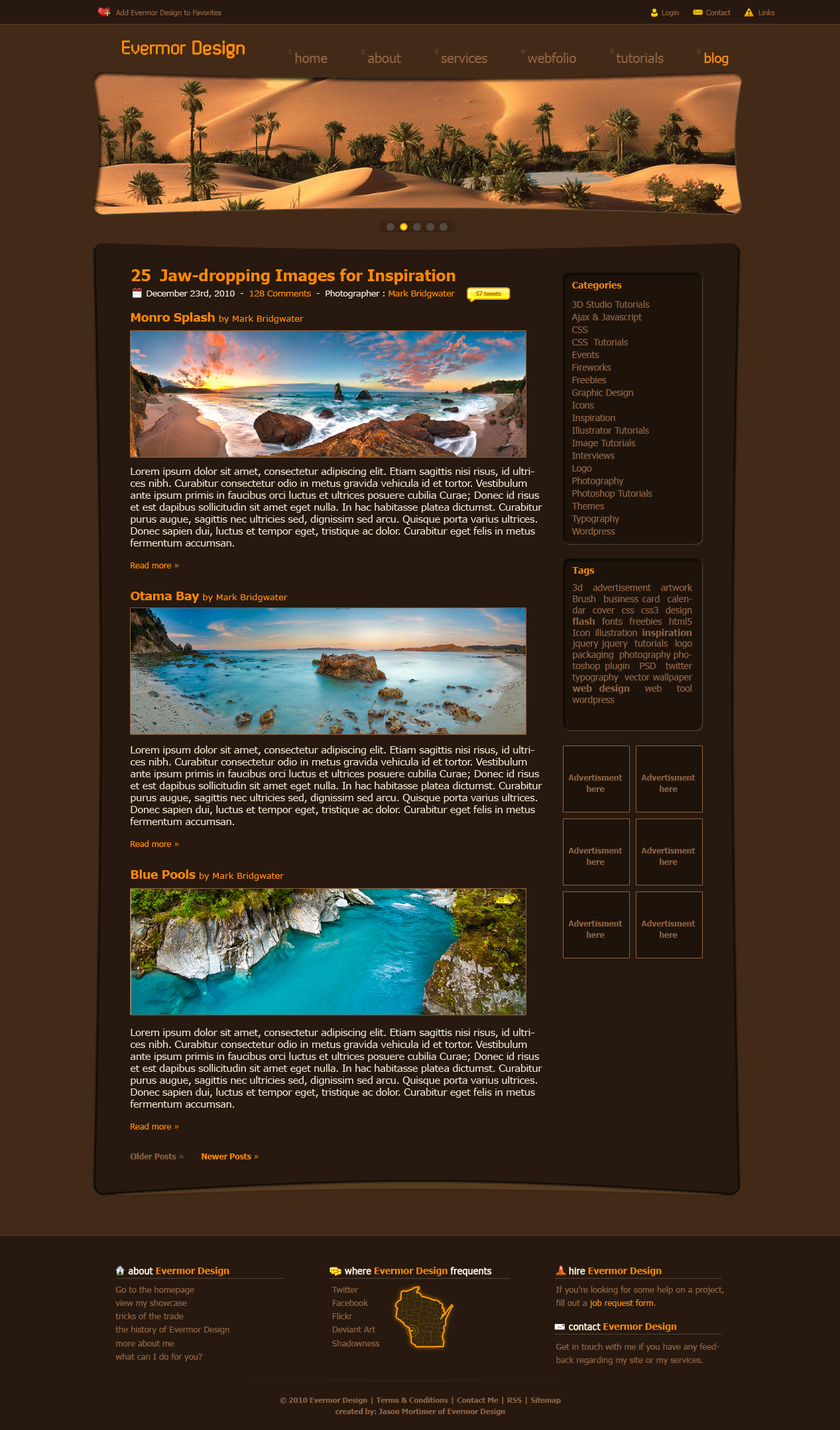 Evermor Blog Design by Remitrom73