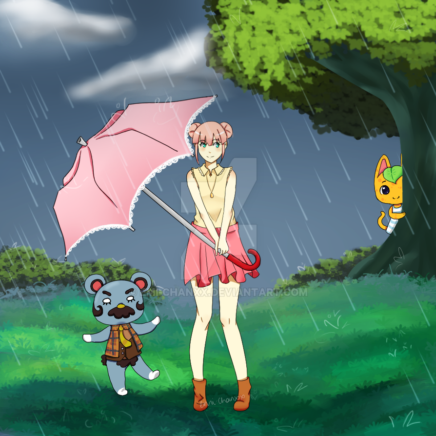 Rain drops by Emi-chanxx