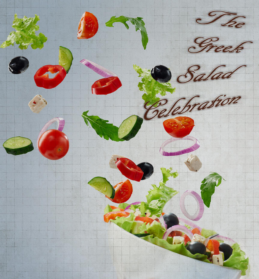 The Greek Salad Celebration by Alienette