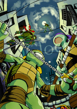 [Tmnt]New Year card the 4th