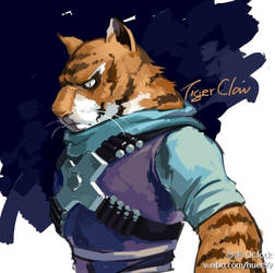 [tmnt]tiger claw by huer13