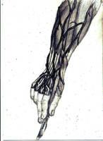 the hand by Hjollbert