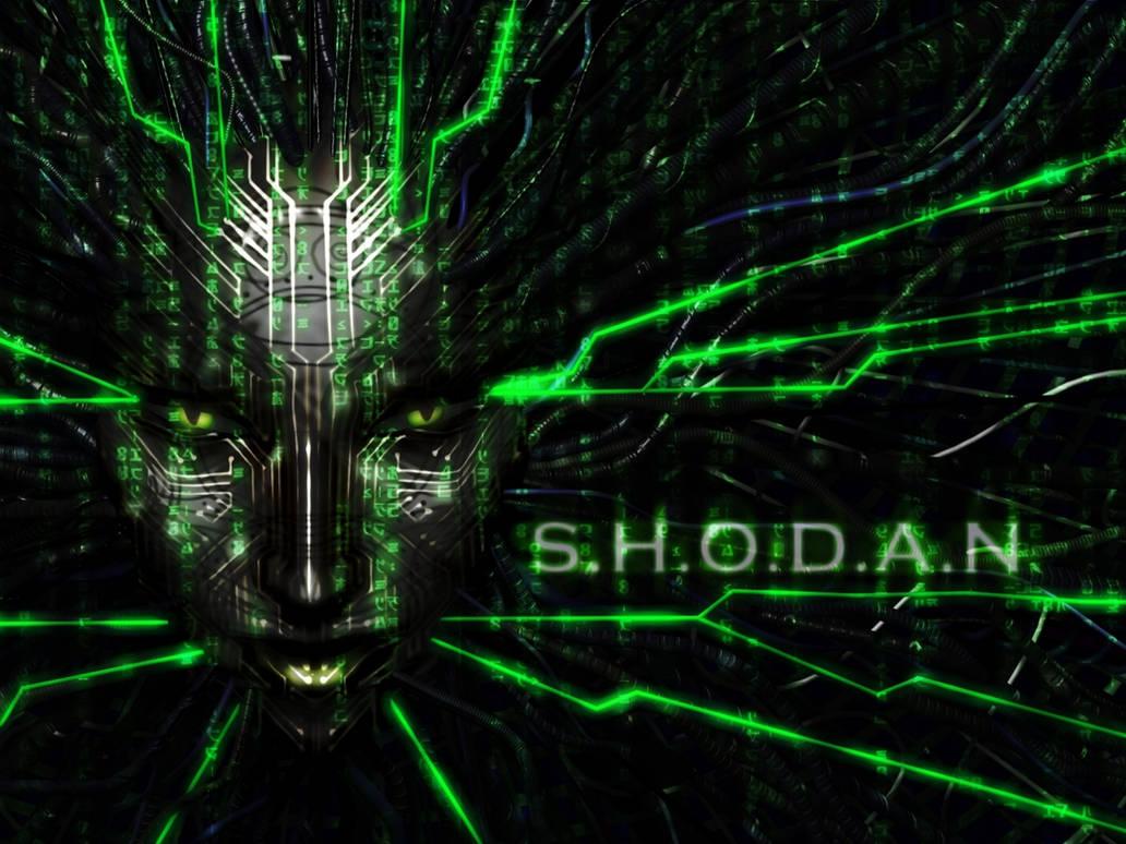 SHODAN : Wallpaper by SuicideNinja on DeviantArt