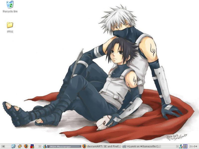 ANBU Kakashi and Sasuke by KatsuyaShiori on DeviantArt
