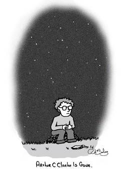 Arthur C Clarke Is Gone by RJDiogenes