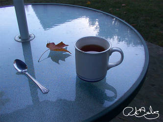 Black Tea In October