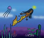 American Mermaid by RJDiogenes