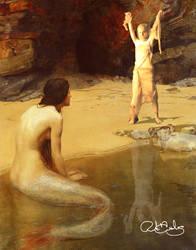 Mummy Versus Mermaid